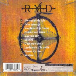 Album Déchiré, du groupe RMD